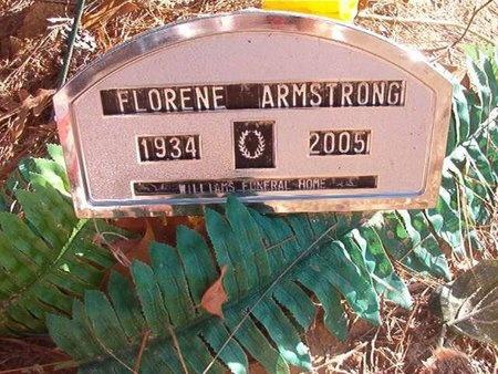 ARMSTRONG, FLORENE - Ouachita County, Arkansas   FLORENE ARMSTRONG - Arkansas Gravestone Photos