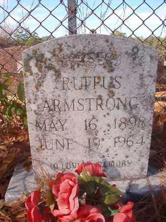 ARMSTRONG, RUFFUS - Ouachita County, Arkansas   RUFFUS ARMSTRONG - Arkansas Gravestone Photos