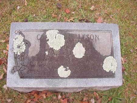 BURLESON, CARRIE - Ouachita County, Arkansas | CARRIE BURLESON - Arkansas Gravestone Photos