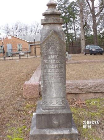 BURLESON, JANE WILSON - Ouachita County, Arkansas   JANE WILSON BURLESON - Arkansas Gravestone Photos