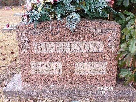 JAMES BURLESON, FANNIE L - Ouachita County, Arkansas   FANNIE L JAMES BURLESON - Arkansas Gravestone Photos