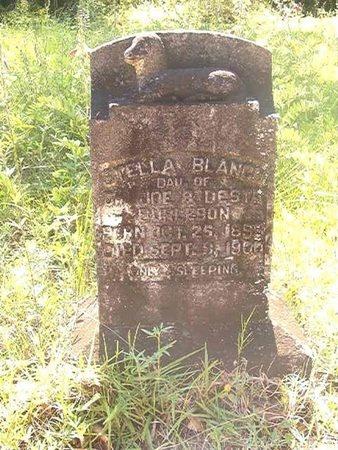 BURLESON, STELLA BLANCH - Ouachita County, Arkansas | STELLA BLANCH BURLESON - Arkansas Gravestone Photos