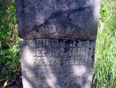BUTLER, ADAM - Ouachita County, Arkansas   ADAM BUTLER - Arkansas Gravestone Photos
