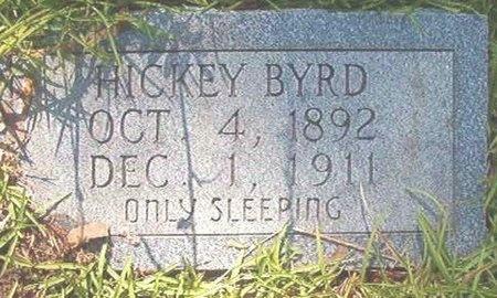 BYRD, HICKEY - Ouachita County, Arkansas   HICKEY BYRD - Arkansas Gravestone Photos