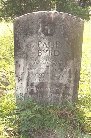 BYRD (VETERAN), PAGE - Ouachita County, Arkansas | PAGE BYRD (VETERAN) - Arkansas Gravestone Photos