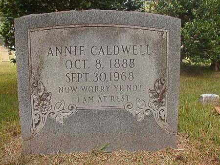CALDWELL, ANNIE - Ouachita County, Arkansas   ANNIE CALDWELL - Arkansas Gravestone Photos