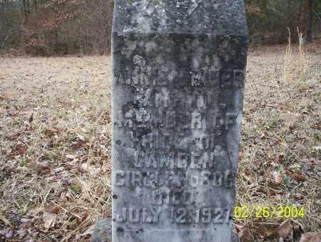 CRINER, ANNIE - Ouachita County, Arkansas | ANNIE CRINER - Arkansas Gravestone Photos