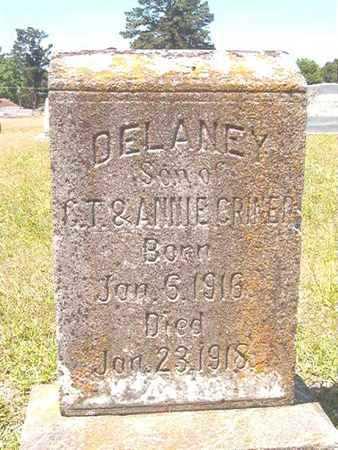CRINER, DELANEY - Ouachita County, Arkansas | DELANEY CRINER - Arkansas Gravestone Photos