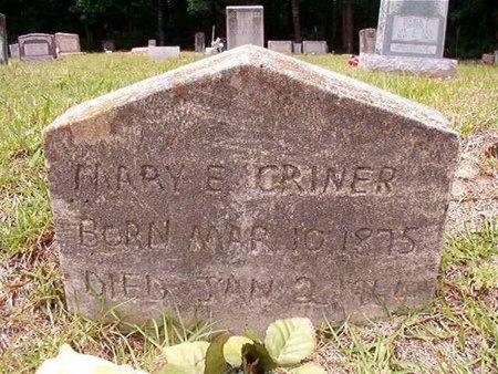 CRINER, MARY E - Ouachita County, Arkansas   MARY E CRINER - Arkansas Gravestone Photos