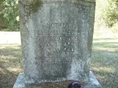CRINER, PEARL ELIZABETH - Ouachita County, Arkansas | PEARL ELIZABETH CRINER - Arkansas Gravestone Photos