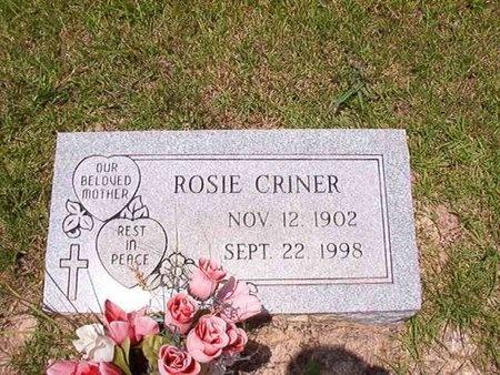 CRINER, ROSIE - Ouachita County, Arkansas | ROSIE CRINER - Arkansas Gravestone Photos