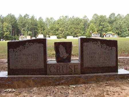 CRUSE, EDITH - Ouachita County, Arkansas | EDITH CRUSE - Arkansas Gravestone Photos