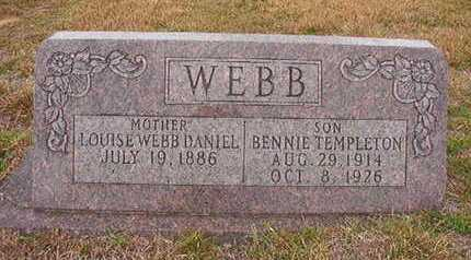 WEBB, BENNIE TEMPLETON - Ouachita County, Arkansas | BENNIE TEMPLETON WEBB - Arkansas Gravestone Photos