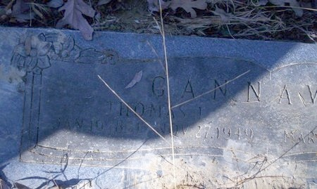 GANNAWAY, THOMAS J - Ouachita County, Arkansas   THOMAS J GANNAWAY - Arkansas Gravestone Photos