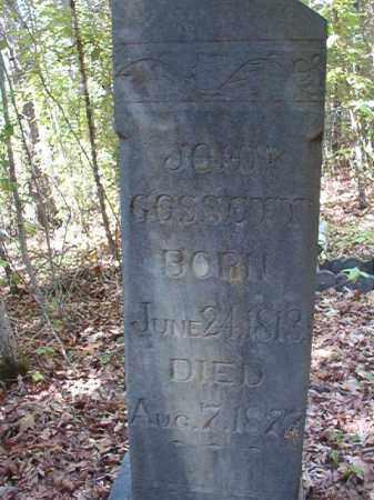 GOSSETT, JOHN - Ouachita County, Arkansas   JOHN GOSSETT - Arkansas Gravestone Photos