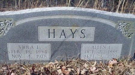 HAYS, VIOLA L - Ouachita County, Arkansas   VIOLA L HAYS - Arkansas Gravestone Photos