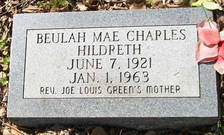 CHARLES HILDRETH, BEULAH MAE - Ouachita County, Arkansas | BEULAH MAE CHARLES HILDRETH - Arkansas Gravestone Photos
