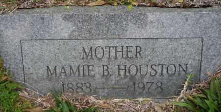 HOUSTON, MAMIE B - Ouachita County, Arkansas | MAMIE B HOUSTON - Arkansas Gravestone Photos