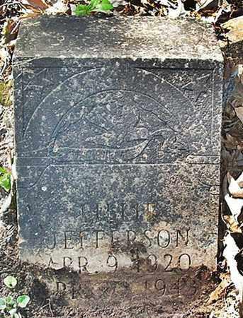JEFFERSON, LILLIE - Ouachita County, Arkansas | LILLIE JEFFERSON - Arkansas Gravestone Photos