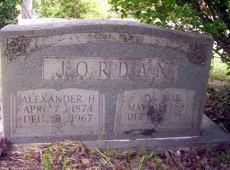 JORDAN, ALEXANDER H - Ouachita County, Arkansas   ALEXANDER H JORDAN - Arkansas Gravestone Photos