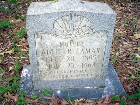 LAMAR, ADLEE R - Ouachita County, Arkansas | ADLEE R LAMAR - Arkansas Gravestone Photos