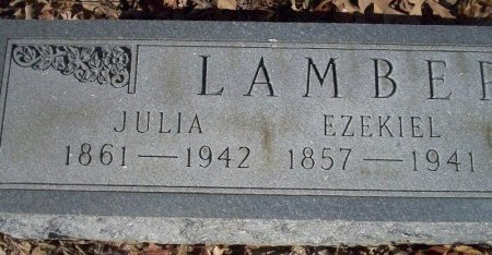 LAMBERT, JULIA - Ouachita County, Arkansas | JULIA LAMBERT - Arkansas Gravestone Photos
