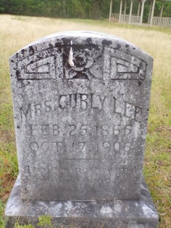 LEE, CURLY - Ouachita County, Arkansas | CURLY LEE - Arkansas Gravestone Photos