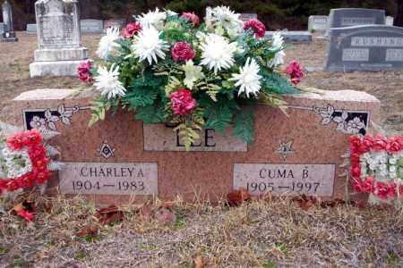 LEE, CHARLEY A - Ouachita County, Arkansas | CHARLEY A LEE - Arkansas Gravestone Photos