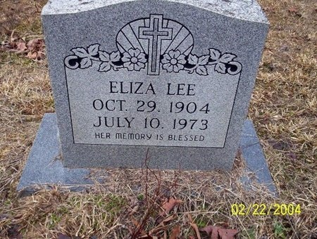 LEE, ELIZA - Ouachita County, Arkansas | ELIZA LEE - Arkansas Gravestone Photos