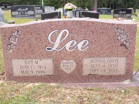 LEE, BONNIE - Ouachita County, Arkansas | BONNIE LEE - Arkansas Gravestone Photos