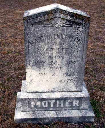 LEE, MARTHA EMILY - Ouachita County, Arkansas | MARTHA EMILY LEE - Arkansas Gravestone Photos