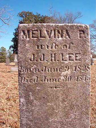 LEE, MELVINA P - Ouachita County, Arkansas | MELVINA P LEE - Arkansas Gravestone Photos