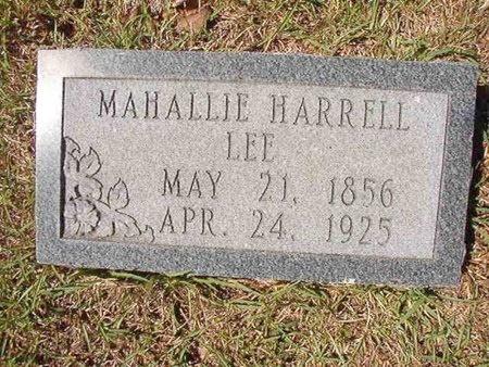 LEE, MAHALLIE - Ouachita County, Arkansas | MAHALLIE LEE - Arkansas Gravestone Photos