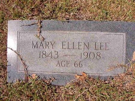 LEE, MARY ELLEN - Ouachita County, Arkansas | MARY ELLEN LEE - Arkansas Gravestone Photos