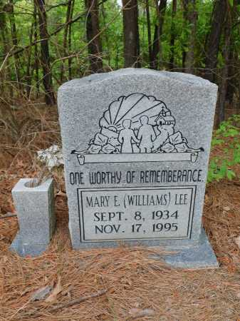 LEE, MARY E - Ouachita County, Arkansas | MARY E LEE - Arkansas Gravestone Photos