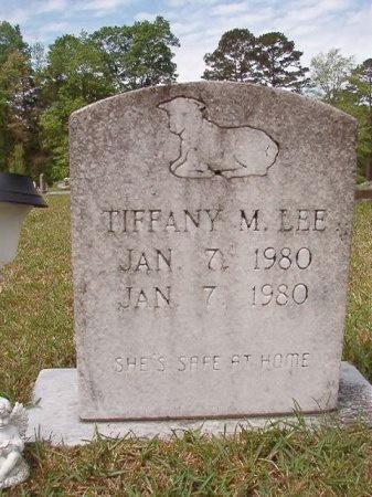 LEE, TIFFANY M - Ouachita County, Arkansas   TIFFANY M LEE - Arkansas Gravestone Photos