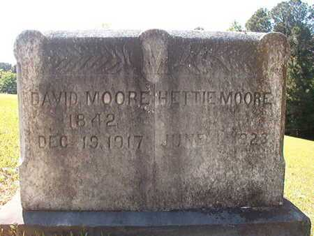 MOORE, DAVID - Ouachita County, Arkansas   DAVID MOORE - Arkansas Gravestone Photos