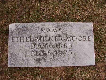 MOORE, ETHEL - Ouachita County, Arkansas | ETHEL MOORE - Arkansas Gravestone Photos