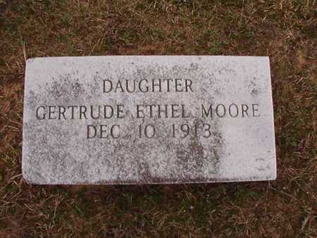 MOORE, GERTRUDE ETHEL - Ouachita County, Arkansas | GERTRUDE ETHEL MOORE - Arkansas Gravestone Photos