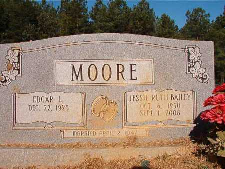 MOORE, JESSIE RUTH - Ouachita County, Arkansas | JESSIE RUTH MOORE - Arkansas Gravestone Photos