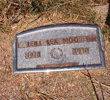 MOORE, LENA LEA - Ouachita County, Arkansas | LENA LEA MOORE - Arkansas Gravestone Photos