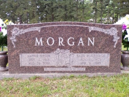 MORGAN, ARTHUR BENSON - Ouachita County, Arkansas | ARTHUR BENSON MORGAN - Arkansas Gravestone Photos