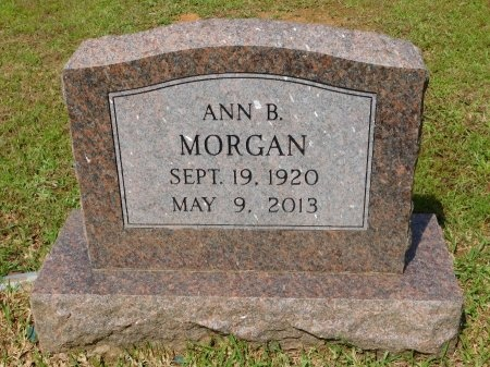 MORGAN, ANN - Ouachita County, Arkansas   ANN MORGAN - Arkansas Gravestone Photos