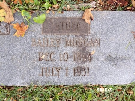 MORGAN, BAILEY (CLOSE UP) - Ouachita County, Arkansas | BAILEY (CLOSE UP) MORGAN - Arkansas Gravestone Photos