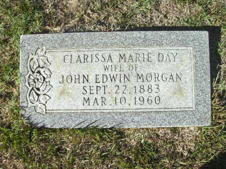 MORGAN, CLARISSA MARIE - Ouachita County, Arkansas | CLARISSA MARIE MORGAN - Arkansas Gravestone Photos