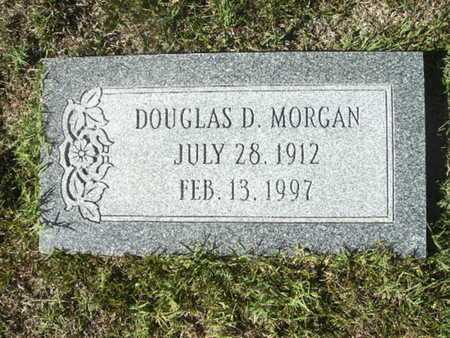 MORGAN, DOUGLAS D - Ouachita County, Arkansas | DOUGLAS D MORGAN - Arkansas Gravestone Photos
