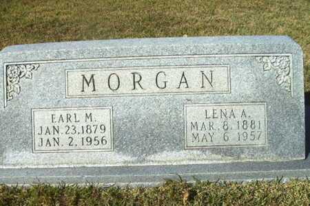 MORGAN, EARL M - Ouachita County, Arkansas   EARL M MORGAN - Arkansas Gravestone Photos