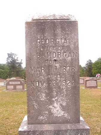 MORGAN, GEORGIA - Ouachita County, Arkansas | GEORGIA MORGAN - Arkansas Gravestone Photos