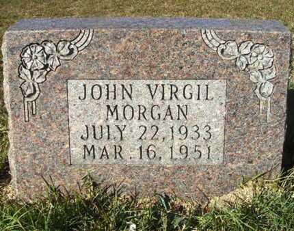 MORGAN, JOHN VIRGIL - Ouachita County, Arkansas   JOHN VIRGIL MORGAN - Arkansas Gravestone Photos