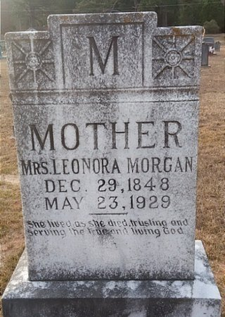 MORGAN, LENORA - Ouachita County, Arkansas | LENORA MORGAN - Arkansas Gravestone Photos